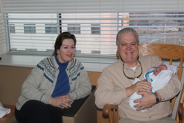 Ardent Writer Press Publisher, Steve Gierhart, and wife, Bonny, celebrate the birth of new granddaughter, Beckett Kate Gierhart, on February 5, 2013.