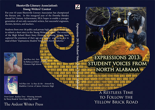 Cover for the 2013 Inaugural Edition of Expressions: Student voices from North Alabama