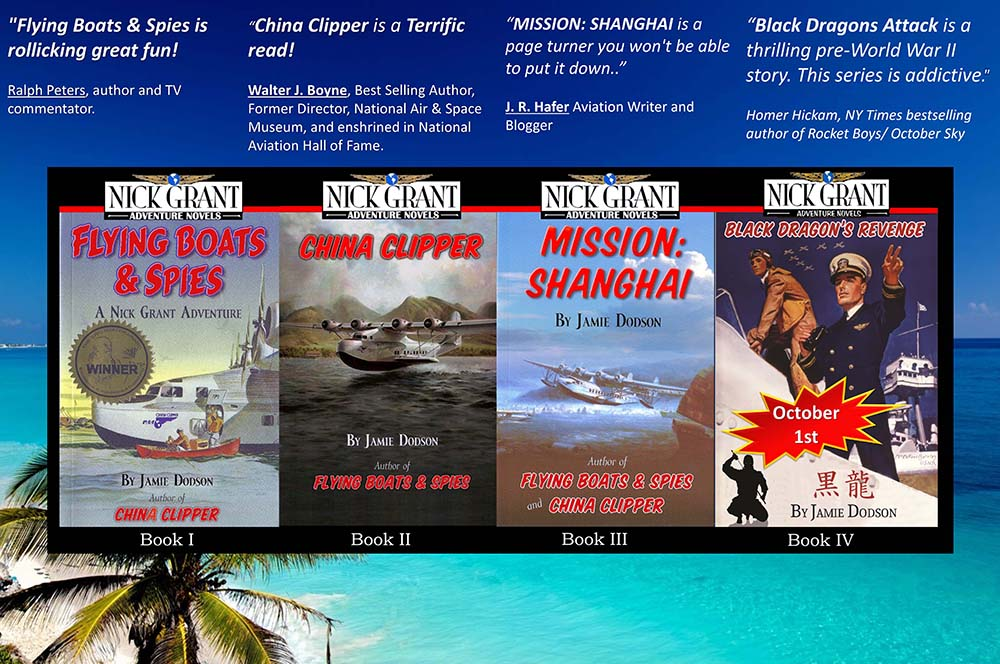 Jamie Dodson - Author of Black Dragons Attack, Book 4 in the Nick Grant Adventure Series
